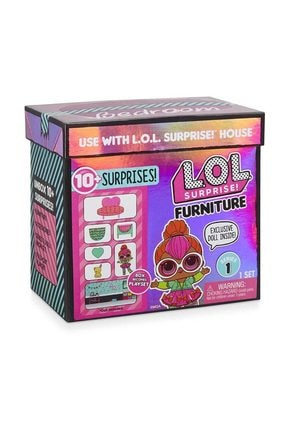 LOL L.O.L. Bebek ve Mobilya Oyun Seti Bedroom