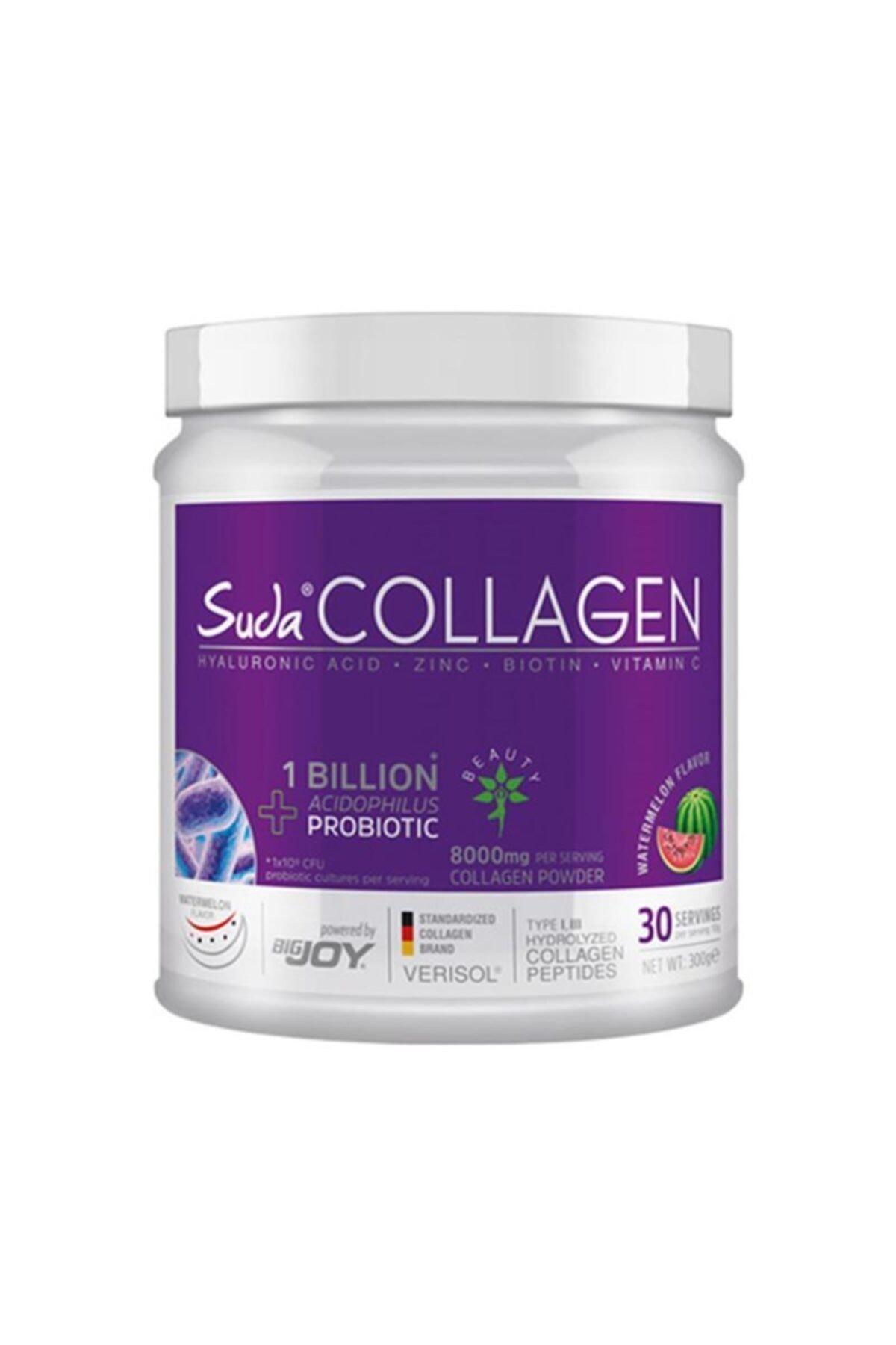 Suda Collagen Karpuz Aromalı Probiotic Watermelon 300 gr 1