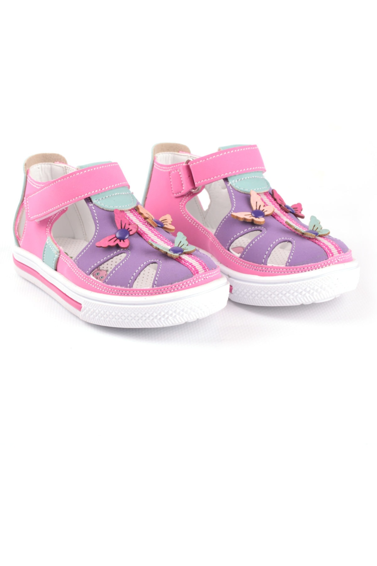 Şirin Bebe Kız Çocuk Kelebekli Kapalı Ayakkabı 1