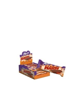 Alpella Harby Karamelli Kaplamalı Bisküvi 25 Gr (24 Adet)