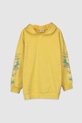 LC Waikiki Kız Çocuk Sarı Fxj Sweatshirt