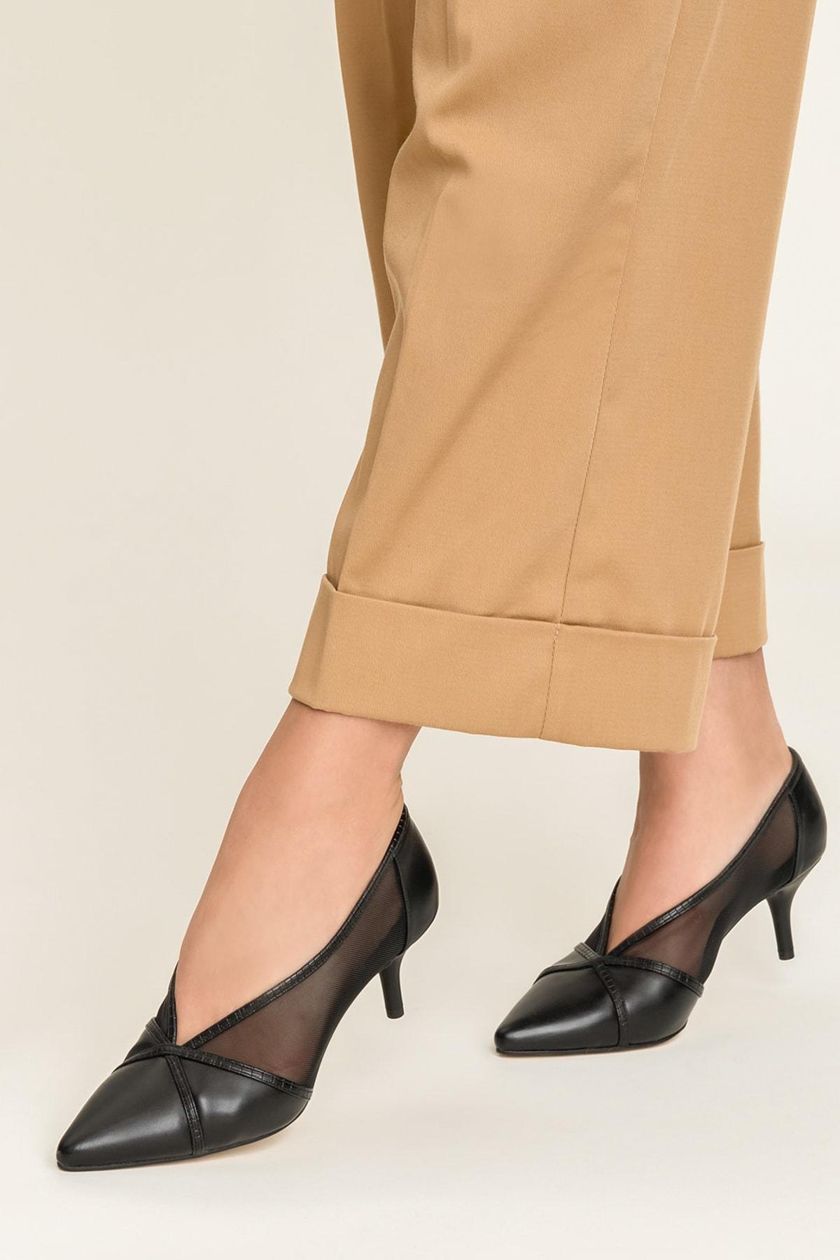 Elle Shoes MIKENNAA Siyah Kadın Ayakkabı 1