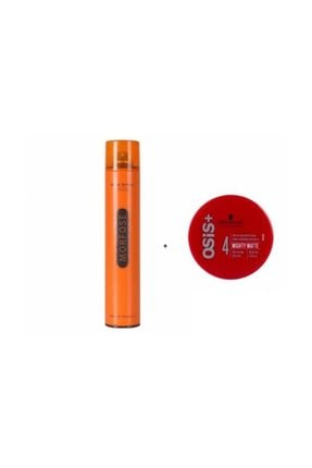 Osis Mighty Matte Güçlü Tutucu Mat Wax 85 Ml+  Turuncu Sprey 400ml
