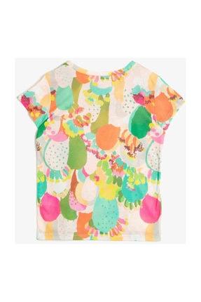 Koton Kids Ekru Kız Çocuk T-Shirt 0YKG17006GK