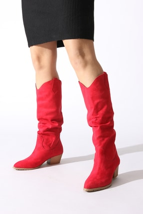 ROVIGO Kırmızı Kadın Çizme 0610759-05