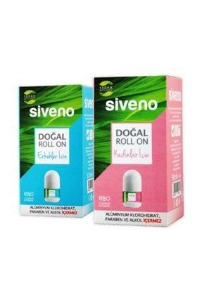 Siveno Doğal Roll-on Erkek + Kadın 50 Ml X 2 Adet