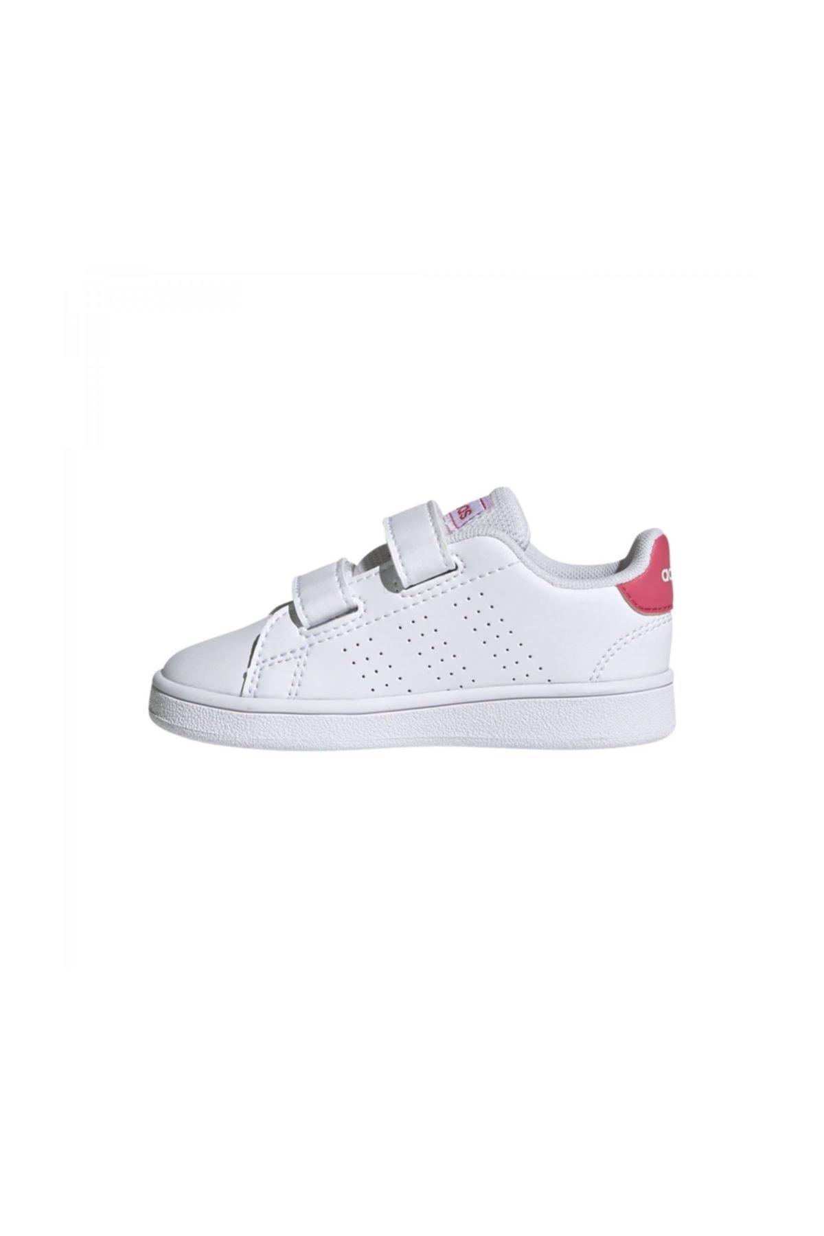 adidas ADVANTAGE Pembe Kız Çocuk Sneaker Ayakkabı 100536371 2