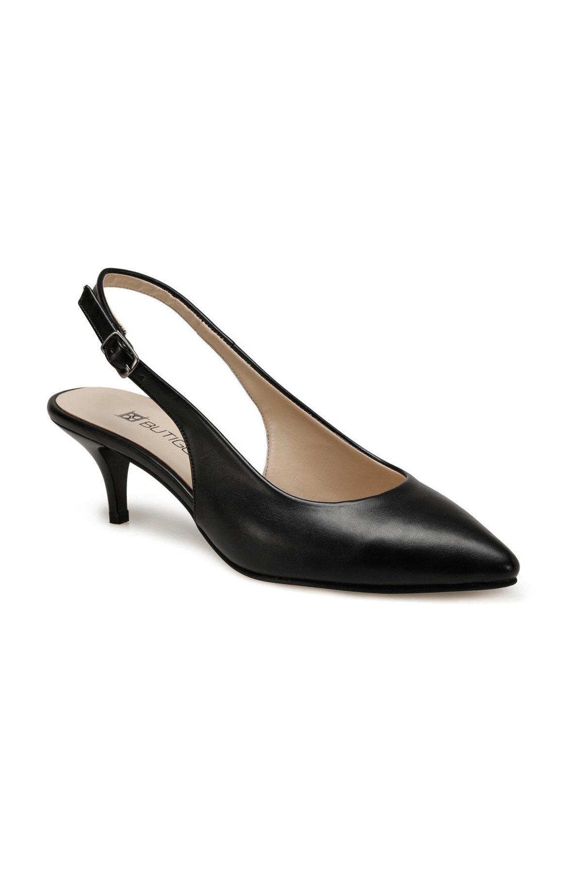 Miss F DS20044 Siyah Kadın Gova Ayakkabı 100517595 1