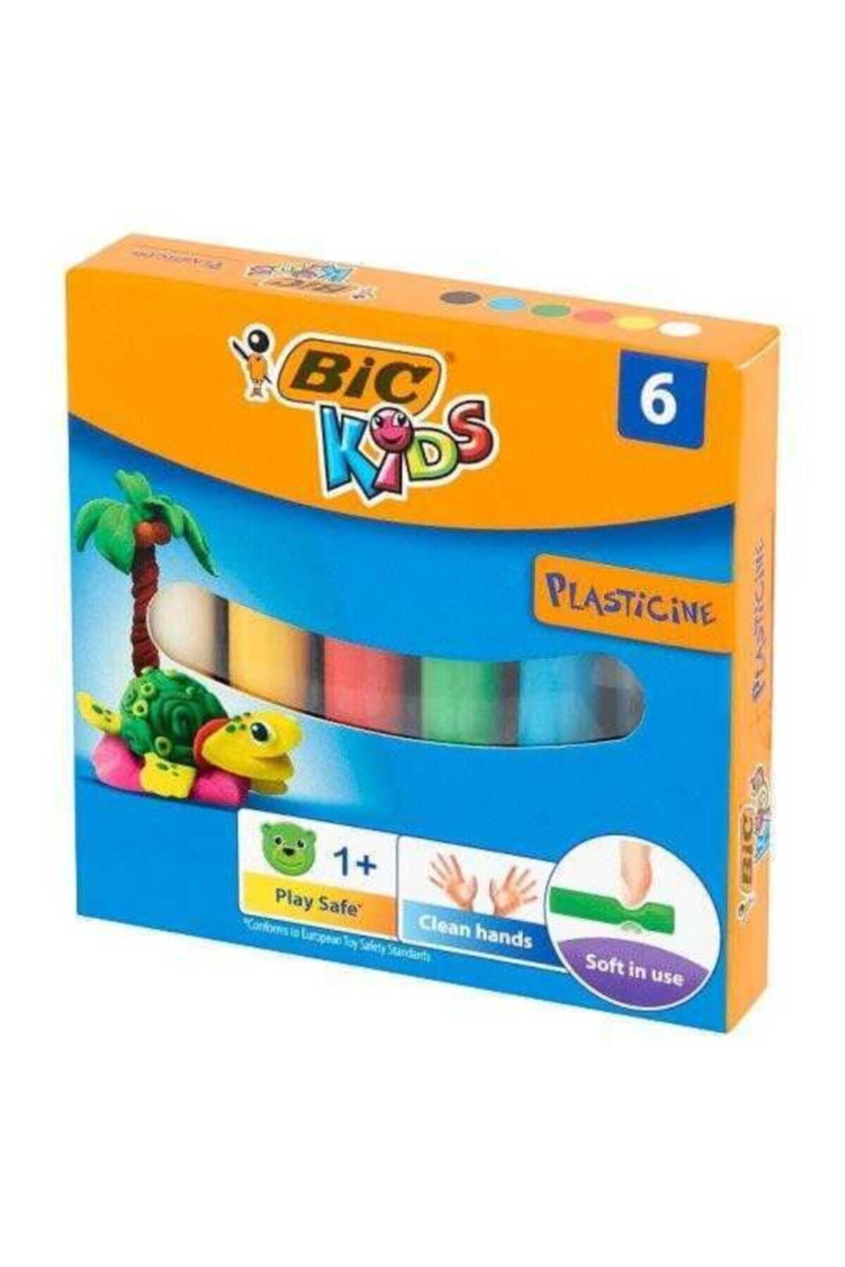 Bic Plastelina Kurumayan Oyun Hamuru 6 Renk 2