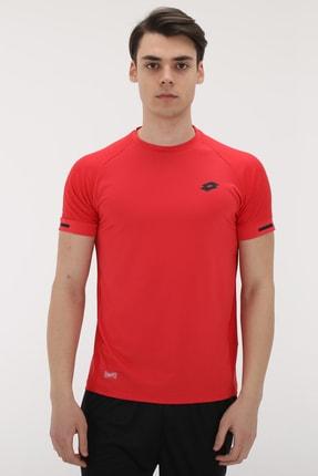 Lotto R8318 Lotto Lıam Tee Pl Erkek T-Shirt Kırmızı