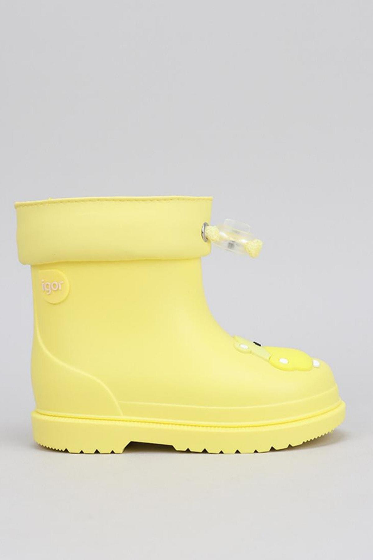 IGOR Bimbi Hipo Çocuk Yağmur Çizmesi Sarı 2