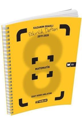 Hız Yayınları 8.sınıf Matematik Kazanım Odaklı Etkinlik Defteri