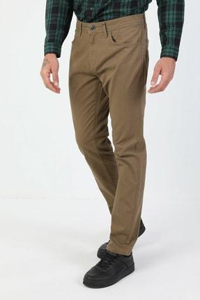 Colin's Düz Paça Normal Bel Sarı Chino Erkek Pantolon CL1046454