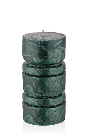 The Mia Marble Mum- Yeşil 10 X 22 Cm