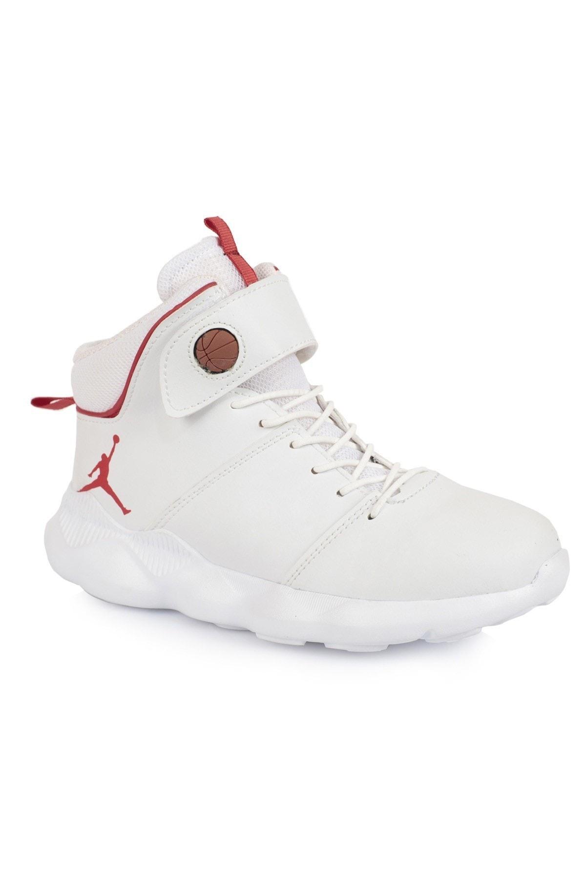 Daxtors Beyaz Unisex Basketbol Ayakkabısı DXTRSBSSKTT005