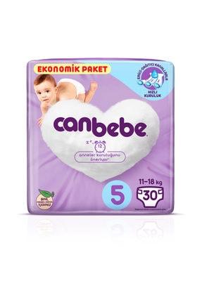 Canbebe Canbebe 5 Beden Ekonomik Paket Junior 11-18 Kg 30'lu