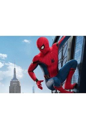 Evistro Spiderman Örümcek Adam Çocuk Kostümü S Beden 3-5 Yaş