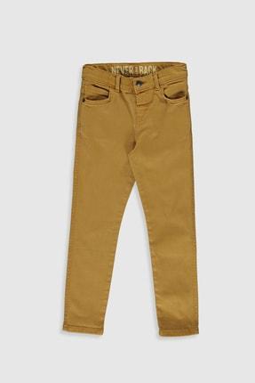 LC Waikiki Erkek Çocuk Koyu Sarı Gcy Pantolon