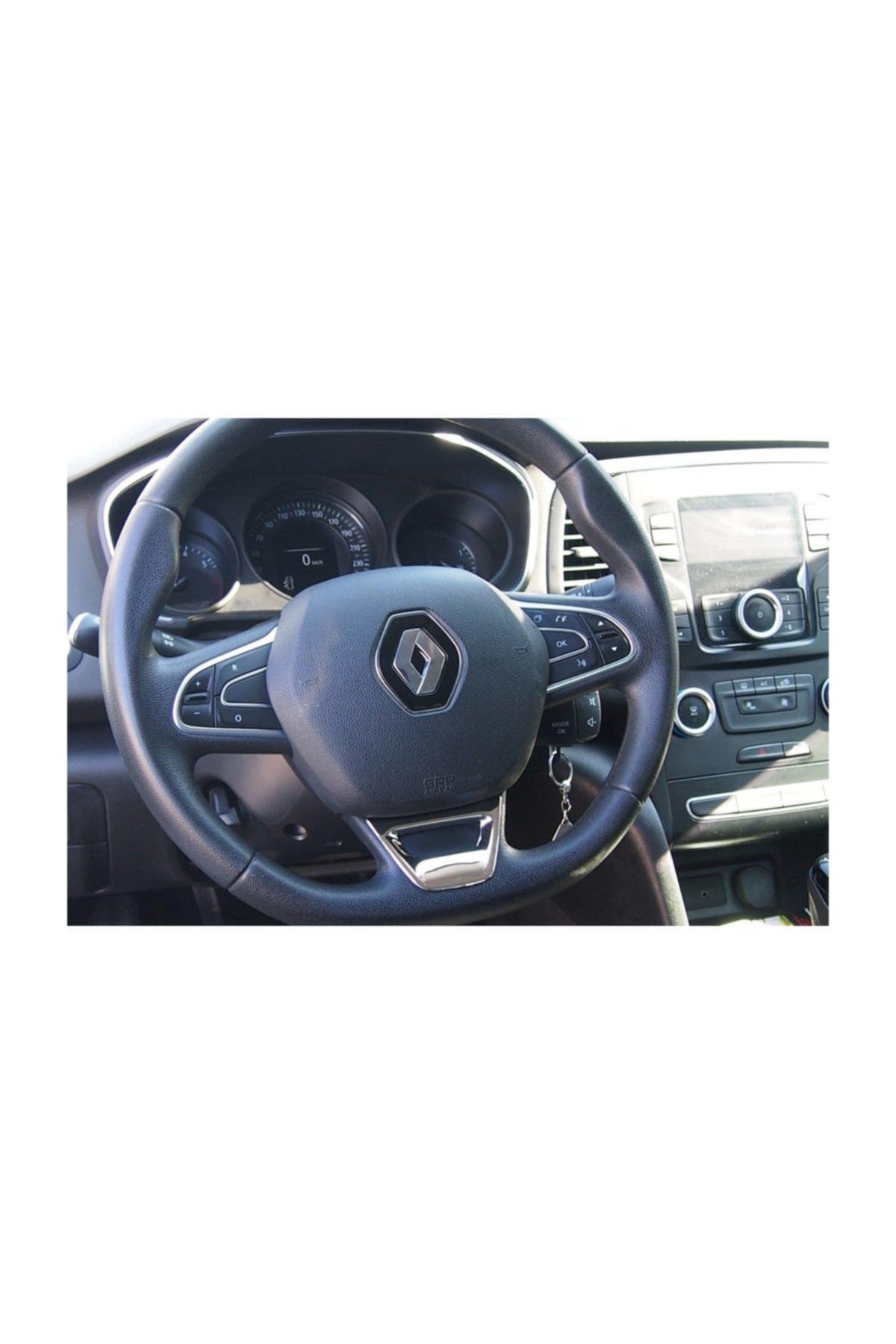 Omsa Renault Megane 4 Hb/sedan Mat Direksiyon Kromu 2016 Ve Sonrası 1