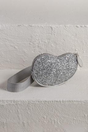 Elle Shoes RONJA Gümüş Kadın Omuz Çantası