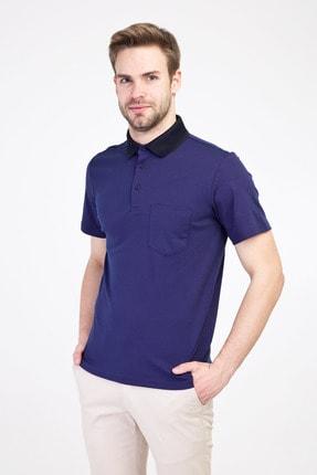 Kiğılı Erkek Mor Polo Yaka Regular Fit Tişört