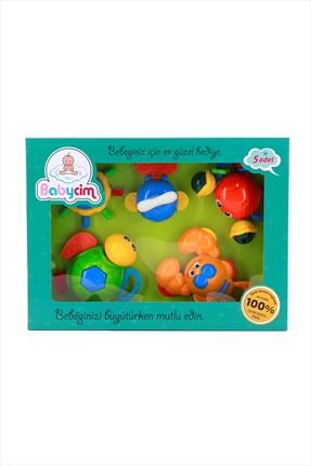 BİRLİK TOYS Turuncu  Babycim 2'li Deniz Hayvanları Çıngırak