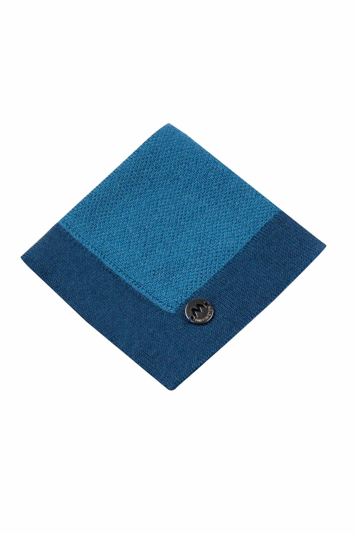 Hemington Erkek Mavi  Merino Yün Mendil  - 184951012 2