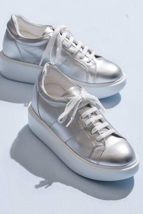 Elle Shoes RAYAN Gümüş Kadın Sneaker