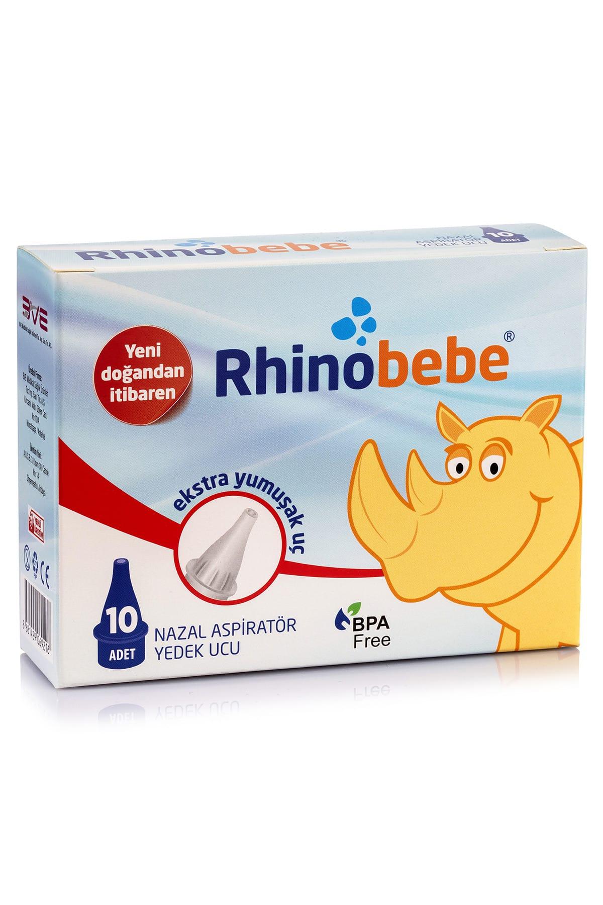 Rhinobebe Bebek Burun Aspiratörü Yedek Uç 1 Paket 1