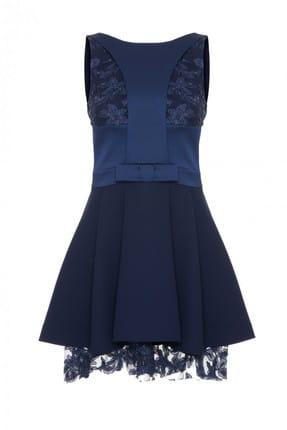 GİZİA Kadın Fiyonk Detaylı Elbise M18Y5W2031OS2