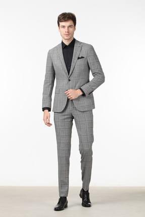 Ramsey Kareli Dokuma Takım Elbise - RP10110694