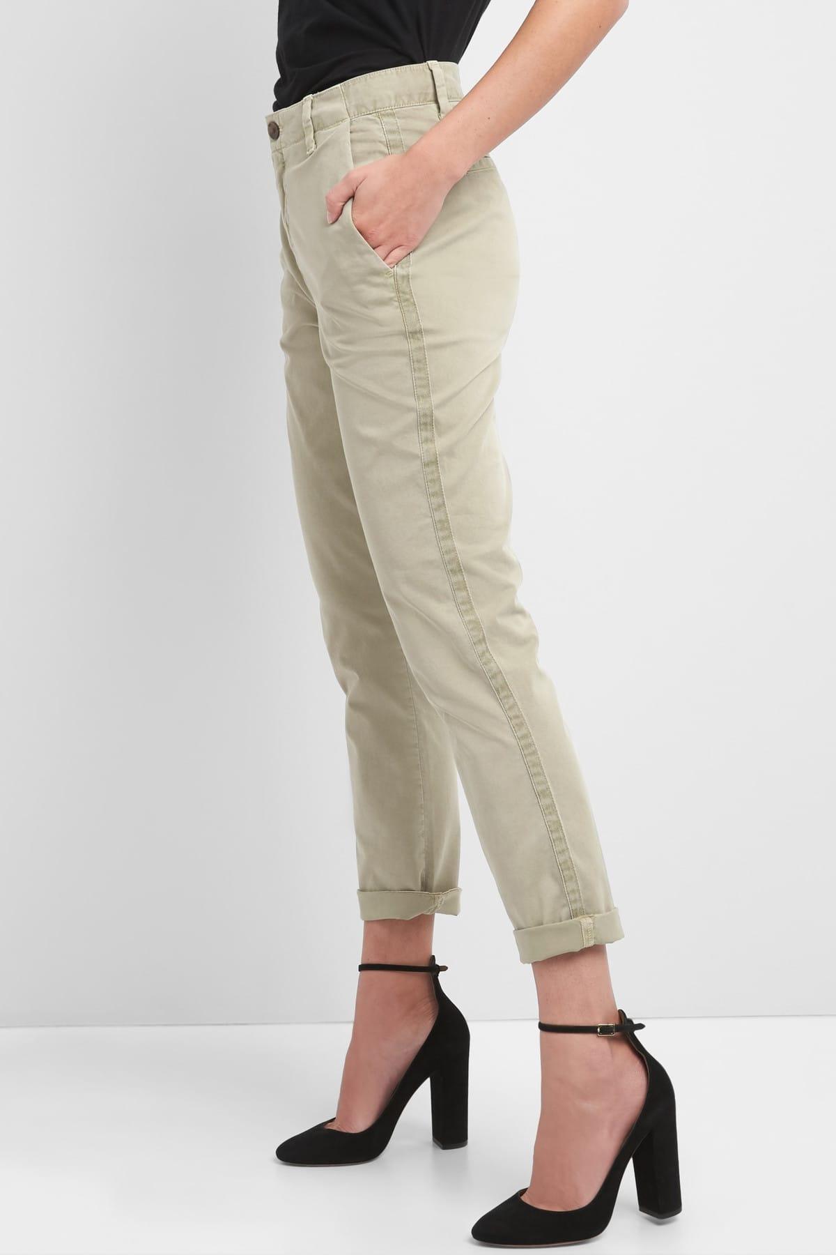 GAP Girlfriend Chino Pantolon 2