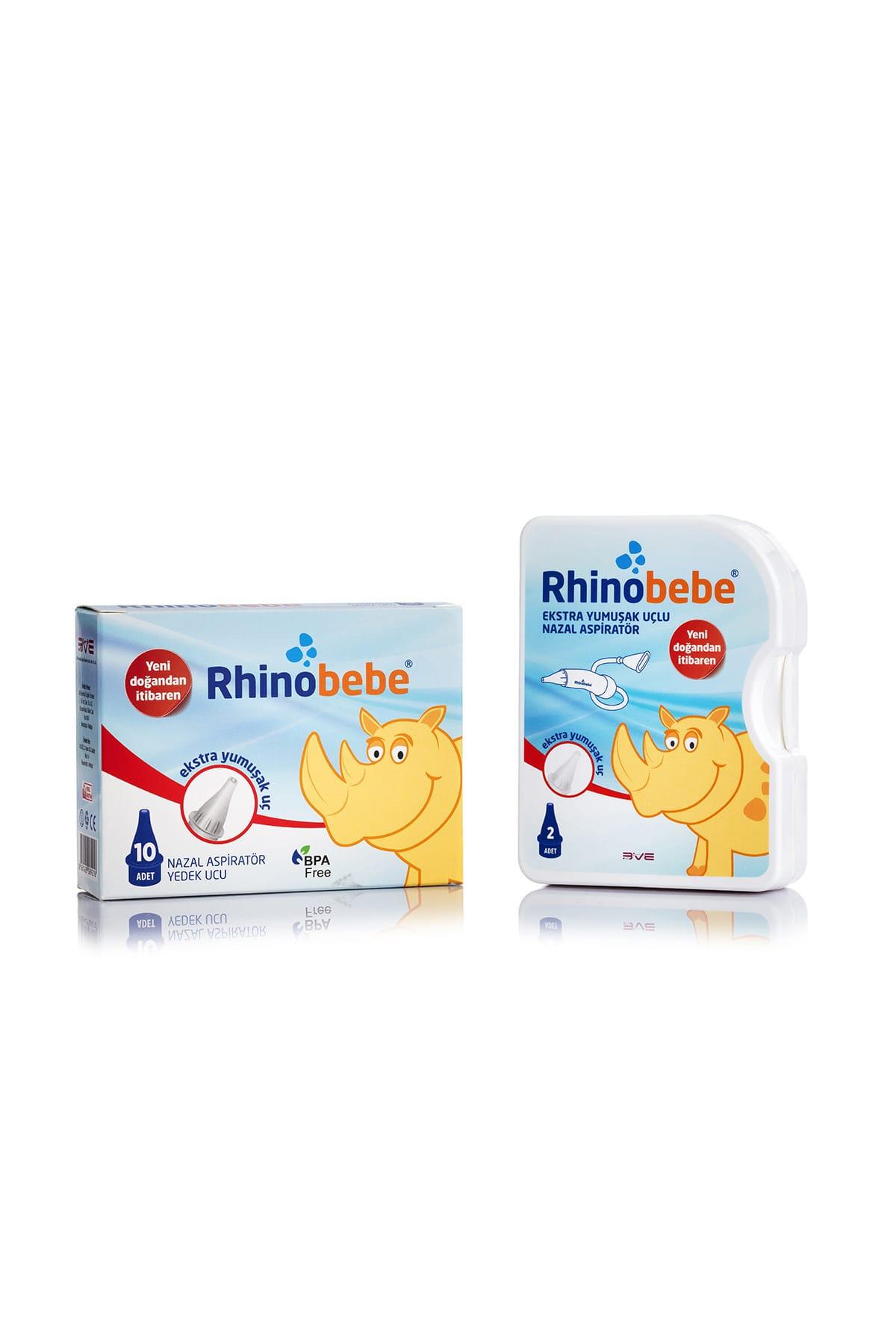 Rhinobebe Bebek Burun Aspiratörü + Yedek Uç 1