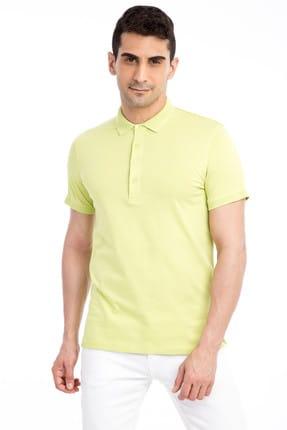 Kiğılı Polo Yaka Slim Fit Fit Tişört