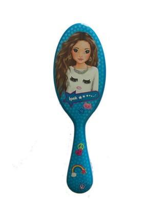 Top Model Saç Fırçası 43 Mavi İpek /