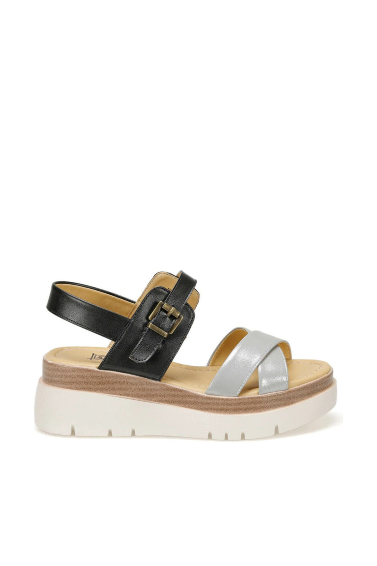 Butigo 19s-393 Siyah Kadın Sandalet 100390811 2