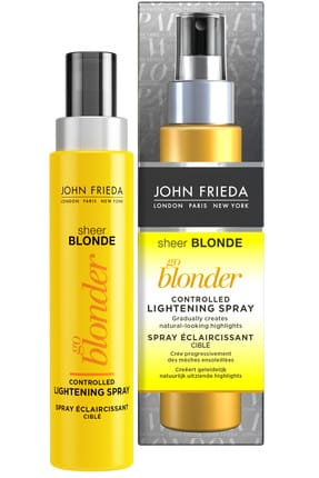 John Frieda Sarı Saçlar için Renk Açıcı Sprey - Sheer Blonde Go Blonder Lightening  100 ml 5037156159240