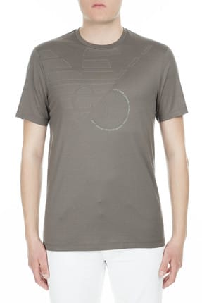 Emporio Armani Erkek Gri T-Shirt 3G1TL1 1JTUZ F645