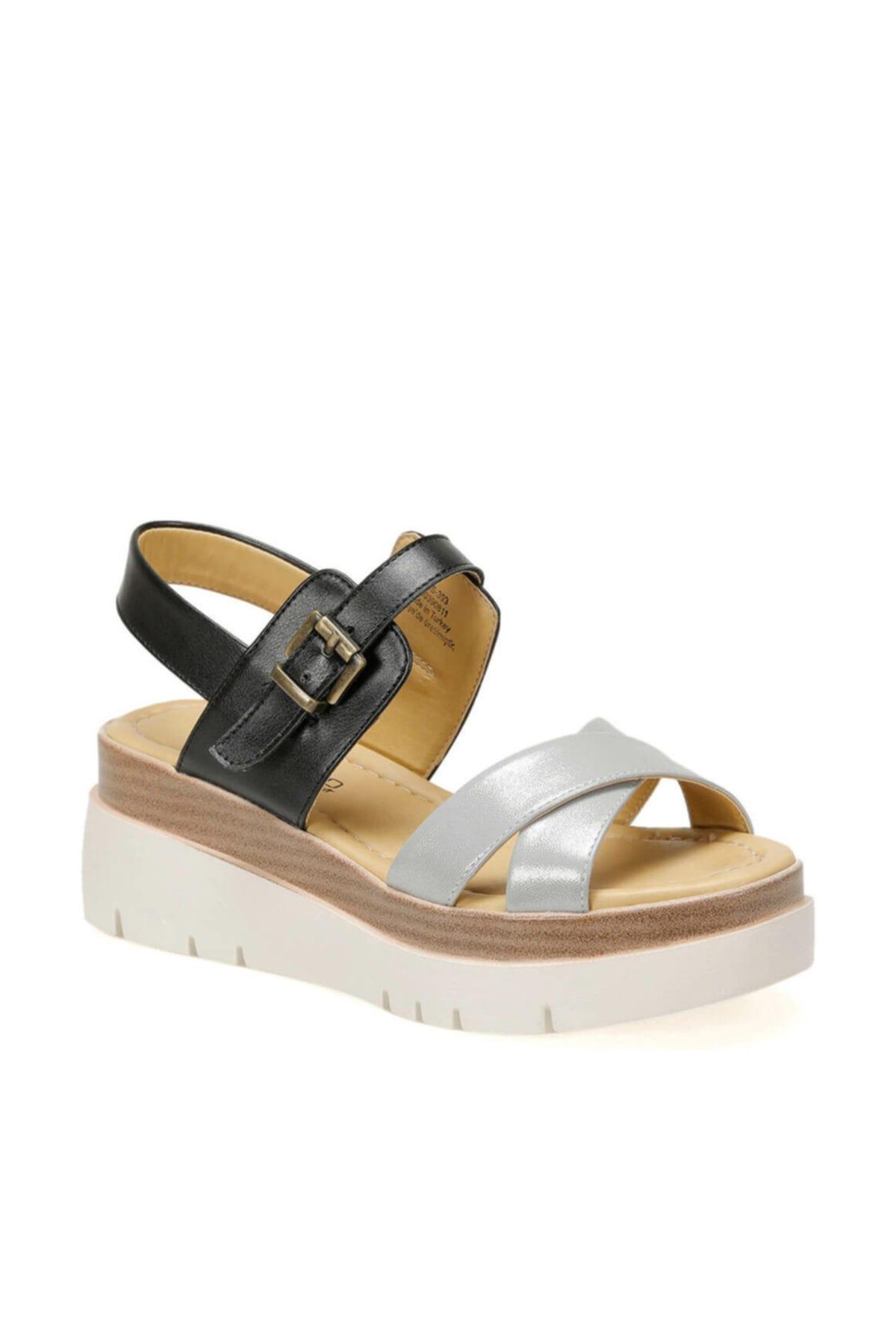 Butigo 19s-393 Siyah Kadın Sandalet 100390811 1