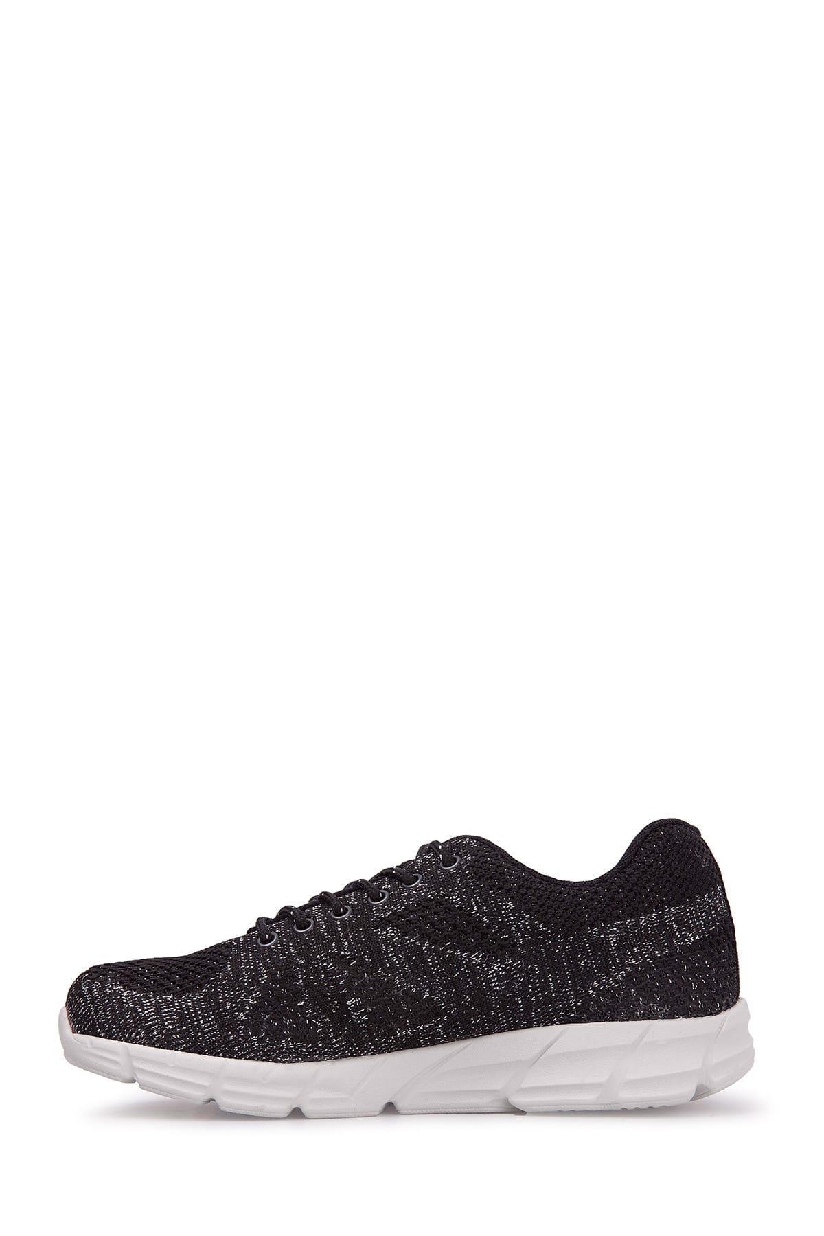 Scooter Siyah Gümüş Kadın Sneaker G5437 2