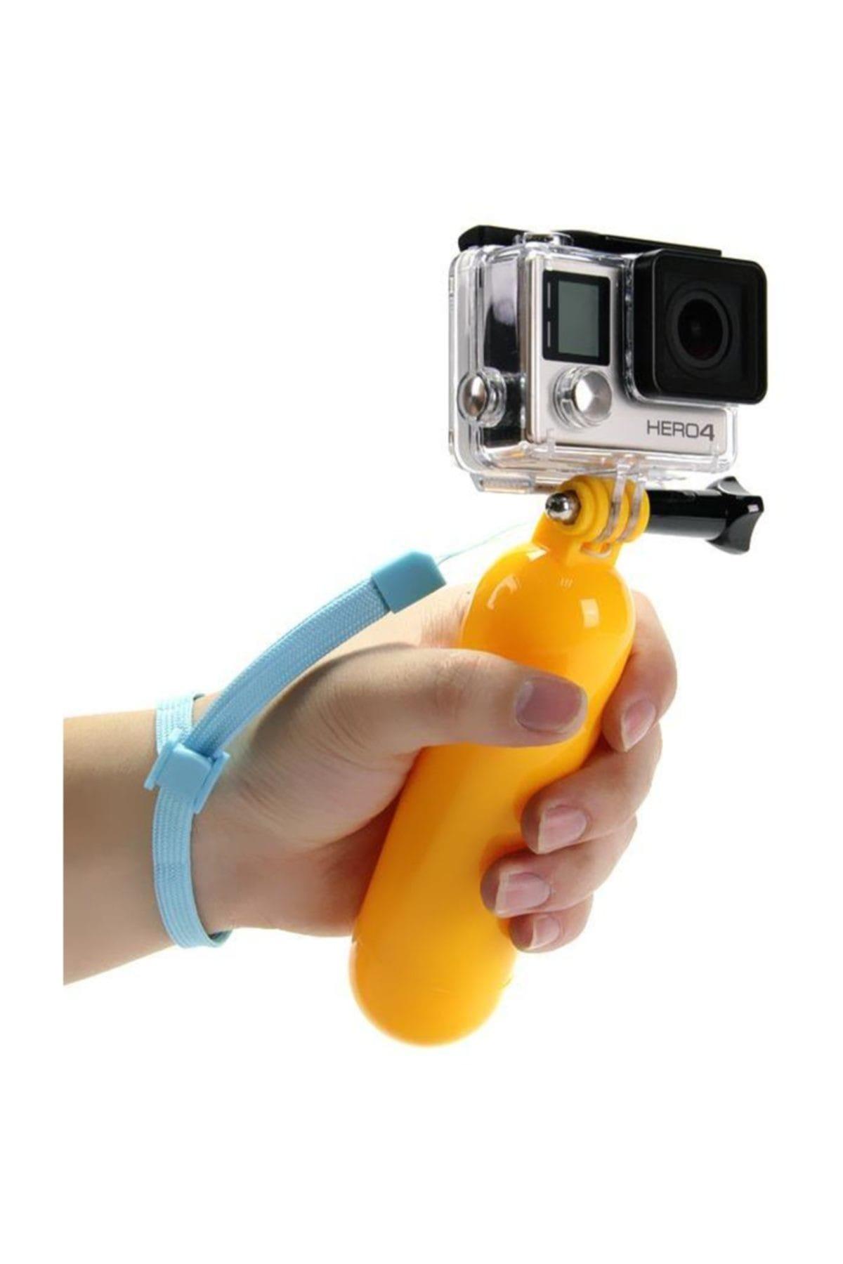 Gplus GP81 Aksiyon Kamera Monopod Su Altı Şamandıra Batmaz Aparatı 1