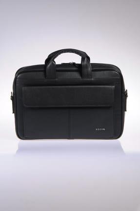 Fossil Siyah Unisex Laptop & Evrak Çantası 8690027118059