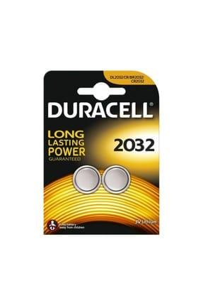 Duracell Lithium Pil 2'li 2032 3V DL2032/CR/BR2032/CR2032