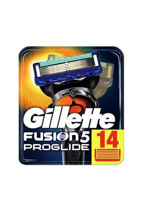 Gillette Fusion Proglide Manual Yedek 14'Lü Karton Paket