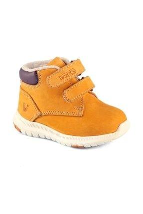 Vicco Deri Camel İlk Adım Ayakkabısı