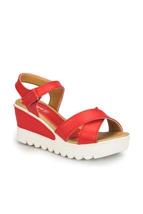 Polaris 81.308569.Z Kırmızı Kadın Sandalet 100313062