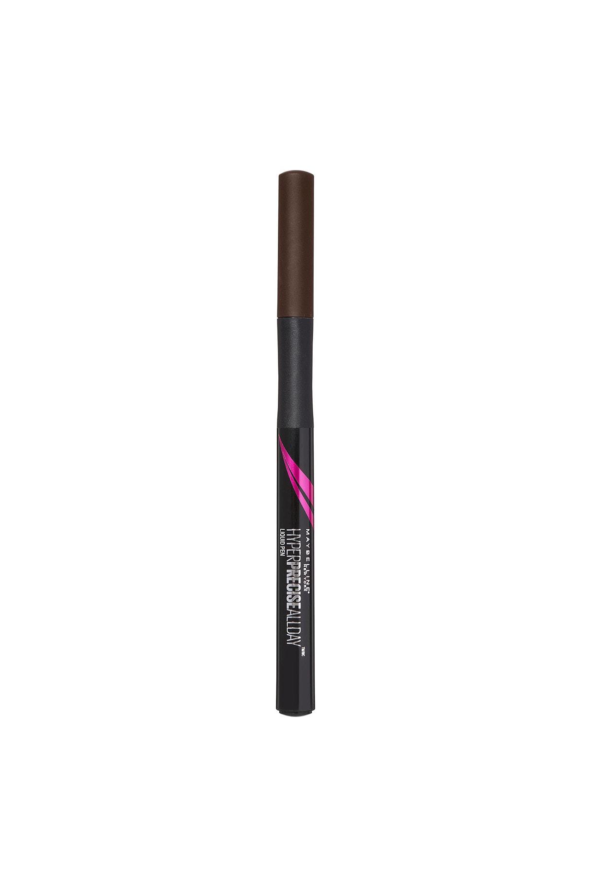 Maybelline New York Kahverengi Likit Eyeliner - Hyper Precise All Day Liquid Eyeliner Brown 3600531047795 1