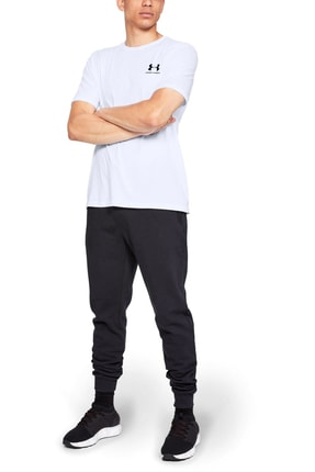 Under Armour Erkek Spor T-Shirt - SPORTSTYLE LEFT CHEST SS - 1326799-100