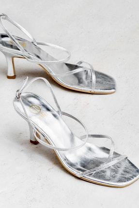 Elle Shoes LEWELLA Hakiki Deri Lame Kadın Sandalet