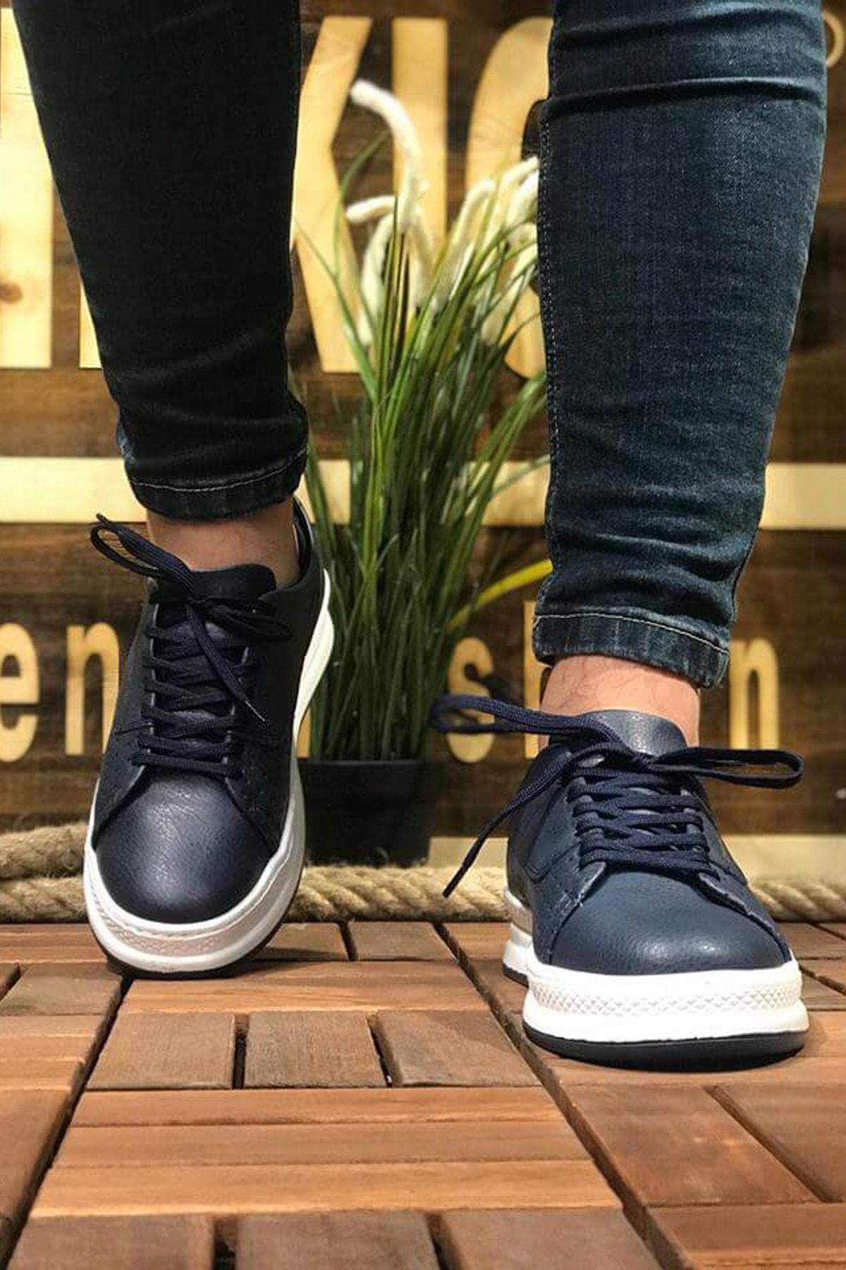 Chekich Lacivert Erkek Sneaker CH043 2